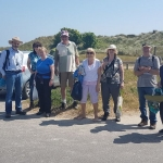 Some of the members who attended the field trip in Ballinesker with Jonathan Derham